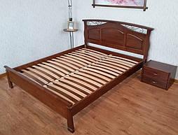 """Кровать """"Марго"""" (200*160), массив дерева - ольха, покрытие № 11. 1"""