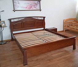 """Кровать """"Марго"""" (200*160), массив дерева - ольха, покрытие № 11. 2"""