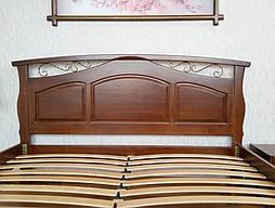 """Кровать """"Марго"""" (200*160), массив дерева - ольха, покрытие № 11. 5"""