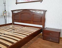 """Кровать """"Марго"""" (200*160), массив дерева - ольха, покрытие № 11. 6"""