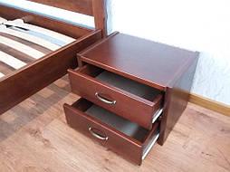 """Кровать """"Марго"""" (200*160), массив дерева - ольха, покрытие № 11. 12"""
