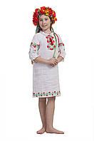 Платье для девочки Калинове Намисто | Сукня для дівчинки Калинове Намисто