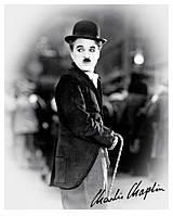 """Постер мини  """"Charlie Chaplin Cane"""""""