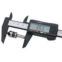 ЖК-Цифровой Электронный Углеродного Волокна Штангенциркуль Датчик Микрометр Измерительный Инструмент