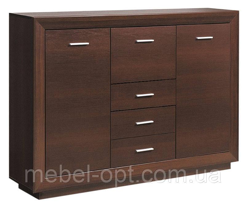 Буфет Клео (SM), буфет из серии модульной мебели Клео темный венге, 1565*1125*385