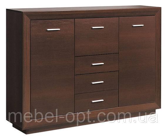 Буфет Клео (SM), буфет из серии модульной мебели Клео темный венге, 1565*1125*385, фото 2
