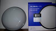 Светильник светодиодный герметичный GLOBAL LED 8W 5000K