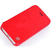 HOCO for iPhone 5C Crystal Leather case Rose Red (HI-L038RR)