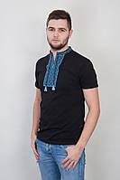 Мужские футболки с вышивкой в украинском стиле