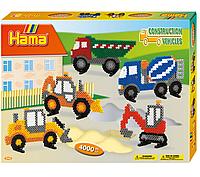 Термомозаика Hama - Набор Строительные машины midi (3143)