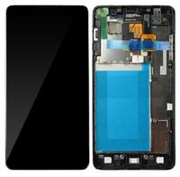Дисплей (экран) для LG E975 Optimus G, E973/E971/E976/E977/E987 + с сенсором (тачскрином) и рамкой черный