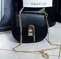 Женский клатч, сумка  на плечо, цвет черный,053