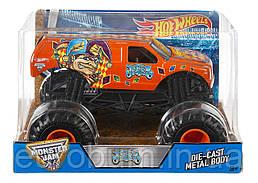 Hot Wheels Monster Jam 1:24 Jester Truck Металлический внедорожник (США)