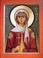 Великомученица Варвара (печать на ткани)