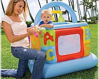 Детский надувной батут-манеж INTEX 48473