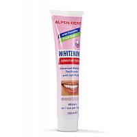 Альпен Дент Паста зубная отбеливающая для чувствительных зубов, 100 мл