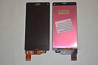 Дисплей (модуль) + тачскрин (сенсор) для Sony Xperia Z3 Compact D5803 | D5833 | M55w (черный цвет)