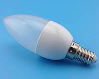 10шт.! 3W Е14 10LED Экономная светодиодная лампа - свеча, LED лампа КАЧЕСТВО!, В наличии
