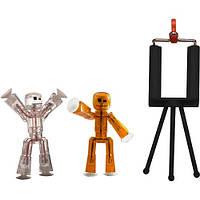 Игровой набор для анимационного творчества STIKBOT S1 – СТУДИЯ (2 экскл. фигурки, штатив)