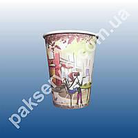Стакан бумажный 175 мл Кафе (плотный) Ø70 1/2800