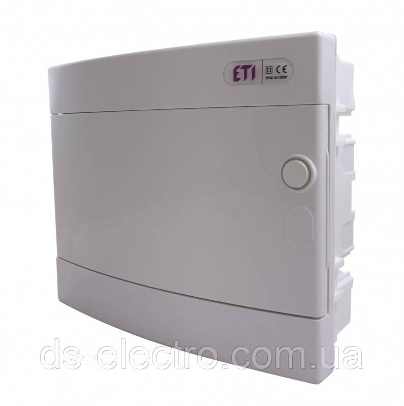 Щит внутренний ETI распределительный ECМ белая дверь
