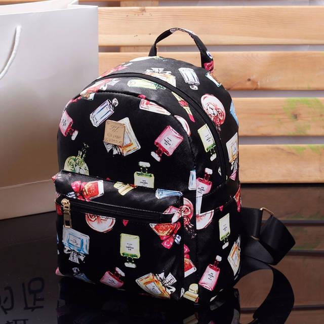 Жіночий рюкзак міський Flowers