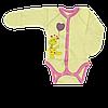 Боди с царапками (с закрытым рукавом) для новорожденных