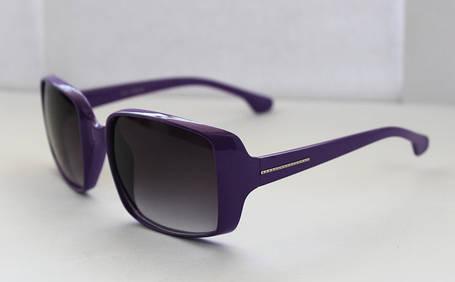 Квадратные солнцезащитные женские очки в фиолетовом цвете, фото 2