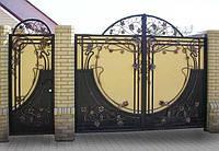 Кованые ворота, калитки, ограждения