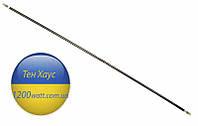 Тэн гибкий прямой ( воздушный) Ø6.5 мм, мощность 1600 Вт, длина 170 см, Sanal