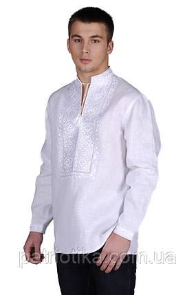 Рубашка мужская Белосвет праздничный  | Сорочка чоловіча Білосвіт святковий, фото 2