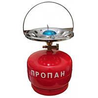 Примус - Газовая печка портативная с баллоном на 5 литра