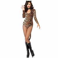 Cексуальный костюм Леопард, эротическое сексуальное белье