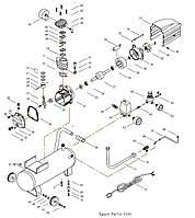 Запчасти для ремонта компрессоров 220В и 380В