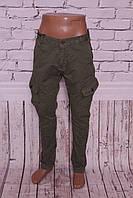 Стильные мужские джинсы карго New Pax (код P6601-53)