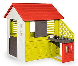 Домик игровой с кухней Smoby 810713