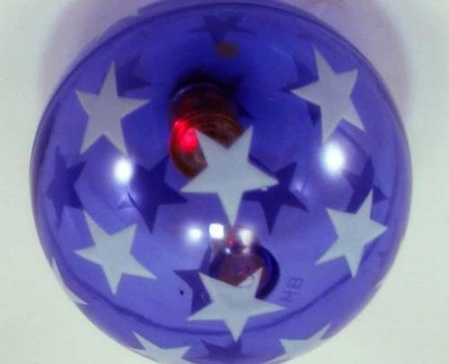 Мяч прыгун С20036 светящийся