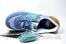 Кроссовки женские в стиле New Balance 574 Classic,  Turquoise, фото 3