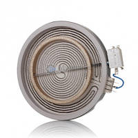 Конфорка электрическая для стеклокерамики двойная 2200W/1000W 230V C00089645