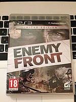 Видео игра Enemy Front (PS3) pyc.