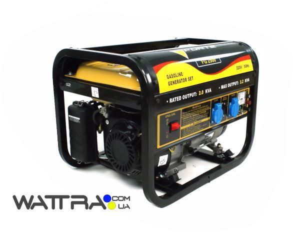 Электрогенератор бензиновый FORTE FG 2500 (2квт) (Форте) 1ф