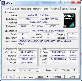 Процессор AMD Athlon II X2  260 3.2GHz + термопаста GD900, фото 2