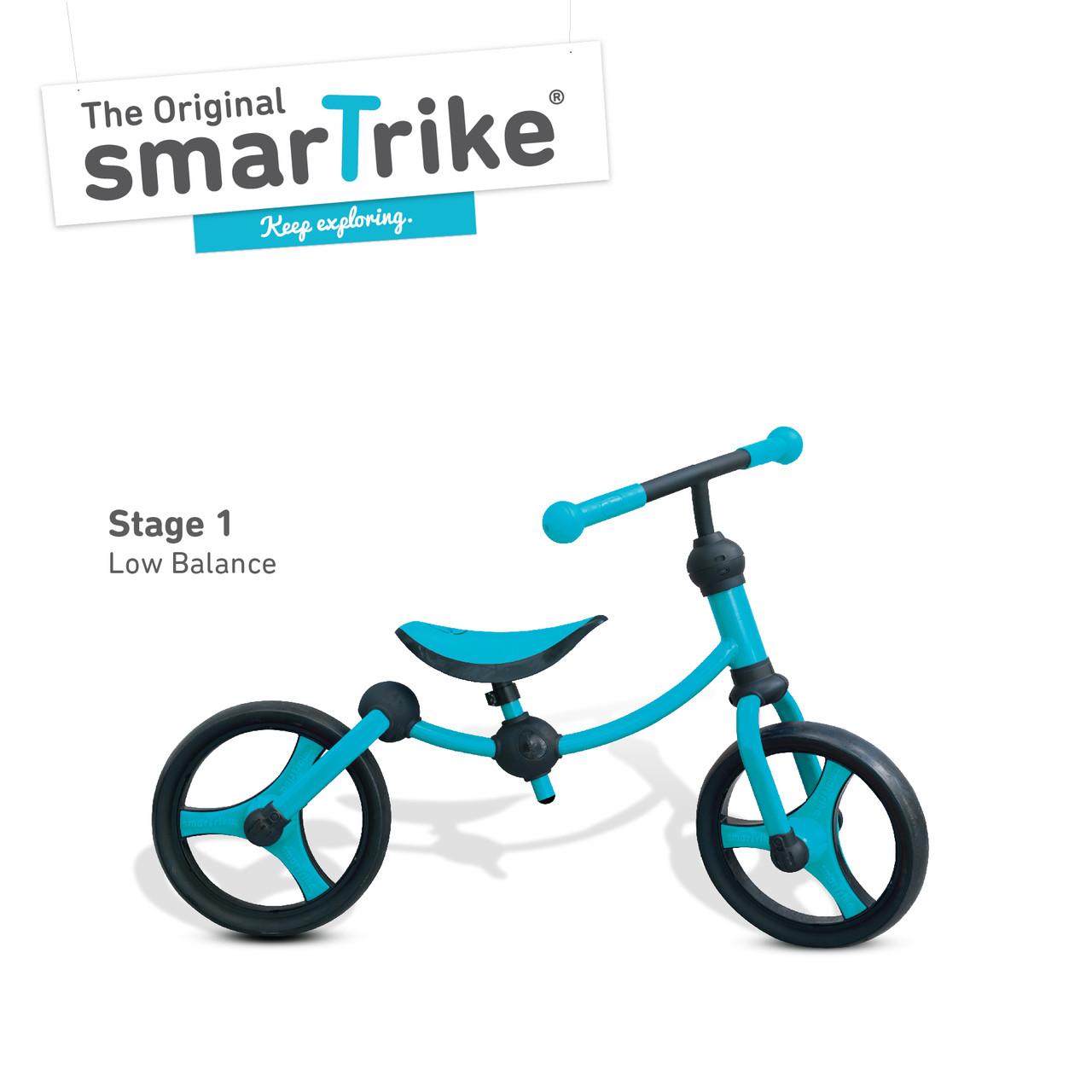 Беговел Running Bike (голубой), Smart Trike (1050300)