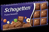 Шоколад Schogetten Praline Noisettes (Шогеттен), 100 гр