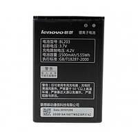 Аккумулятор BL203 для Lenovo A369i, A228, A238, A238, A238t, A278T, A396, A318T, A66, A308T, A385e