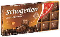 Шоколад Schogetten Caramel Brownie (Шогеттен), 100 гр