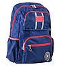 Рюкзак подростковый ортопедический ТМ 1 Вересня OX 334, синій, 29*45.5*15