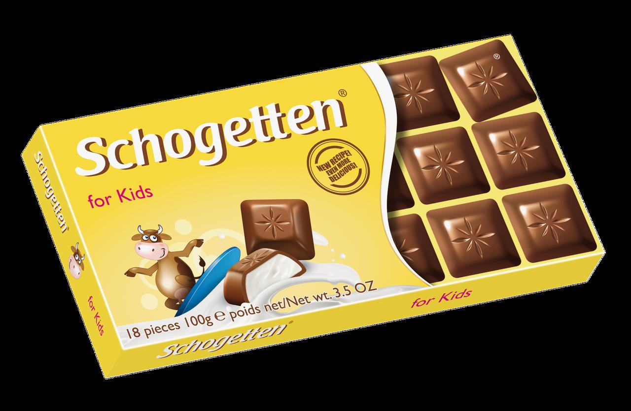Шоколад Schogetten Kinder (Шогеттен), 100 гр