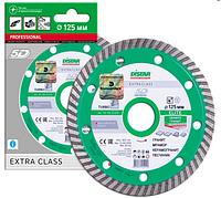 Круг алмазный Distar Turbo Elite TS30H 125 мм отрезной диск по граниту и базальту для УШМ