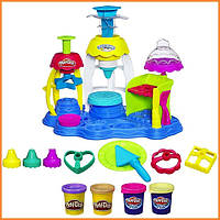 Плей-До набор пластилина Фабрика Пирожных Play-Doh Frosting Fun Bakery Hasbro
